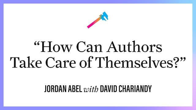 """""""How Can Authors Take Care of Themsel..."""