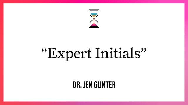 """""""Expert Initials"""""""