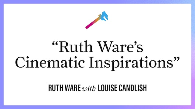 """""""Ruth Ware's Cinematic Inspirations"""""""