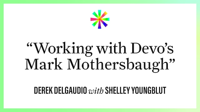 """""""What Was it Like Working with Devo's Mark Mothersbaugh?"""""""