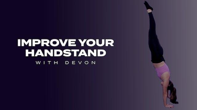 Improve Your Handstand