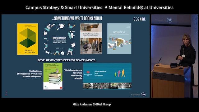 3.6 Campus Strategy & Smart Universities: A Mental Rebuild® at Universities