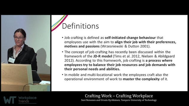 4.9.0 Crafting Work – Crafting Workplace
