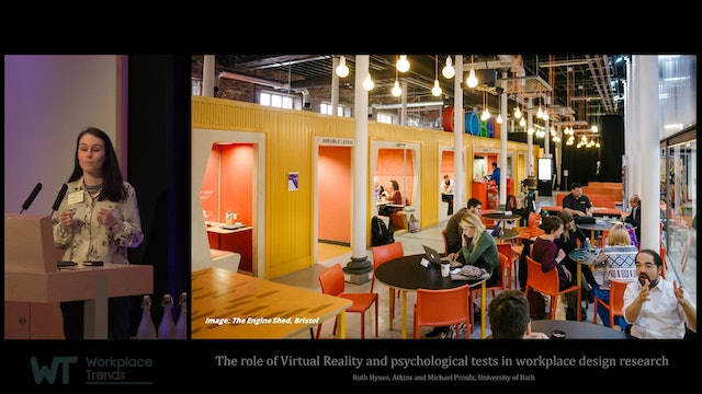 4.2 Virtual Reality and psychological tests in workplace design research