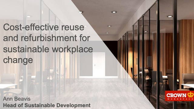 Cost-effective reuse and refurbishment for sustainable workplace change.pdf