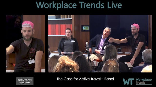 1.5 The Case for Active Travel – Panel
