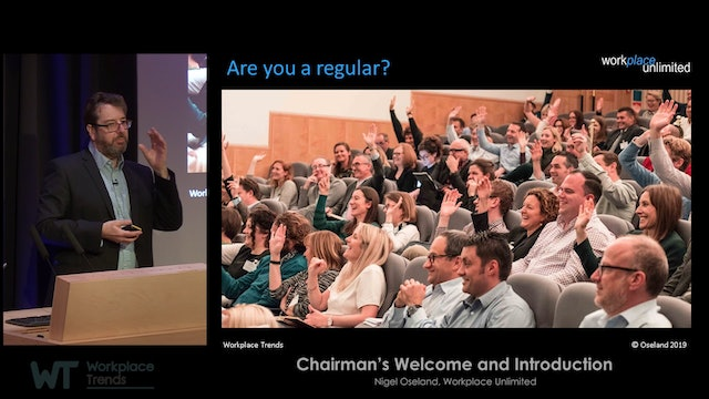 4.0 Research Spring Summit 2019, Chairman's Introduction