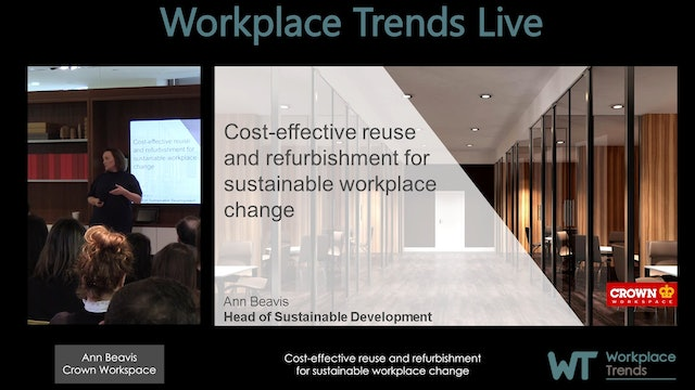 1.4 Cost-effective reuse and refurbishment for sustainable workplace change
