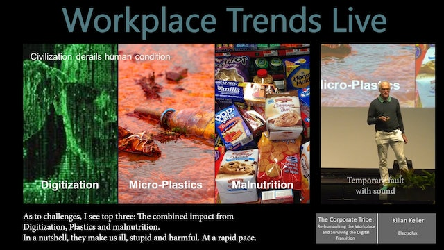 1.1 Corporate Tribe: Re-humanizing the Workplace & Surviving Digital Transition
