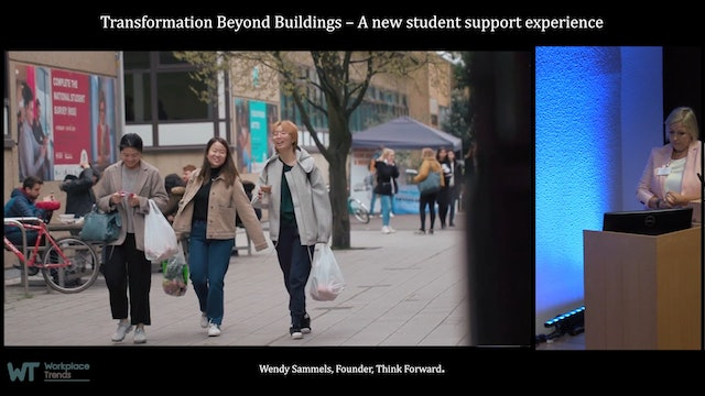 3.1 Transformation beyond buildings – A new student support experience