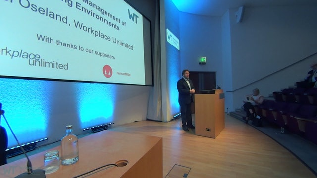 3.0 Learning Environments 2019 Morning Chair's Welcome - Nigel Oseland