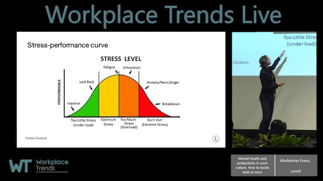 1.9.2 Mental health and productivity in work culture. How to tackle both at once