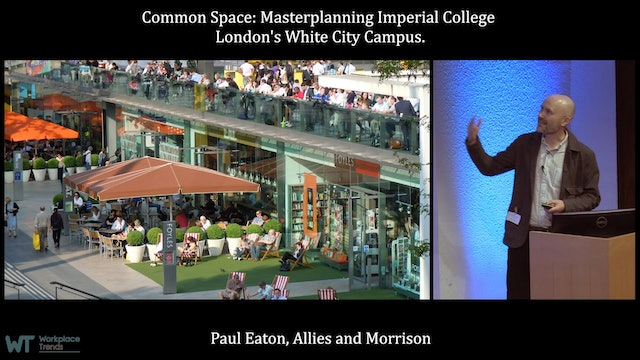 3.2. Common Space: Masterplanning Imperial College London's White City Campus