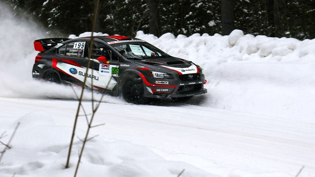 Winter Rally with Travis Pastrana & Subaru Rally Team USA