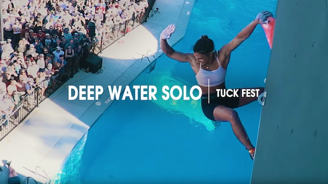 Deep Water Solo | Tuck Fest