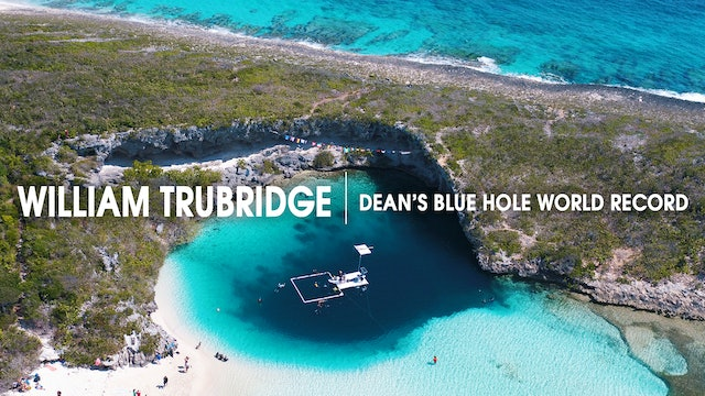 William Trubridge | Dean's Blue Hole World Record