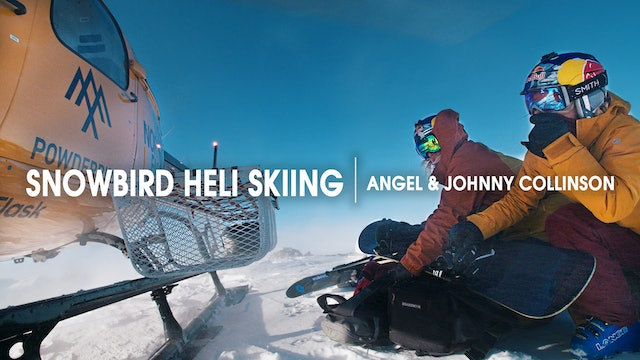 Snowbird Heli Skiing with Angel and Johnny Collinson