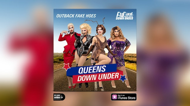 """""""Queens Down Under"""" (Outback Fake-HoesVersion)LyricVideo"""