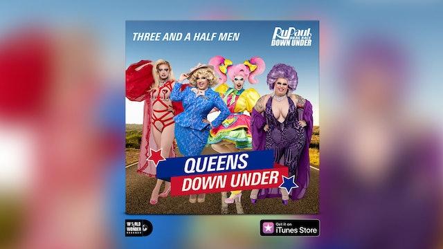 """""""Queens Down Under"""" (Three and a Half Men Version)LyricVideo"""