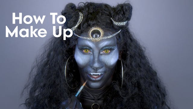 Nina Bo'nina Brown: How To Makeup 216