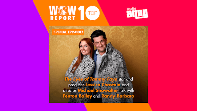 Jessica Chastain & Director Michael Showalter talk Tammy Fayeon the WOW Report!