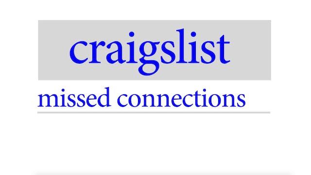 Laila McQueen: CRAIGSLIST Missed Conn...