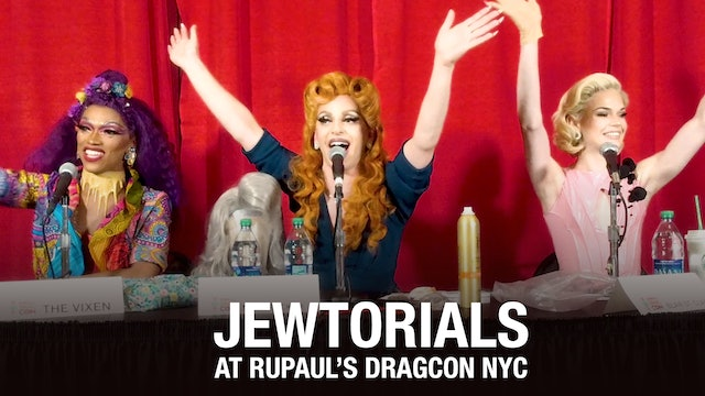 JewTorials Panel w/ Miz Cracker, Blair St. Clair, The Vixen at RuPuals DragConNY