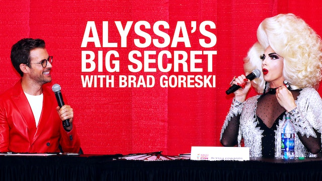 Alyssa Edwards' Big Secret Panel DragCon NY 2018