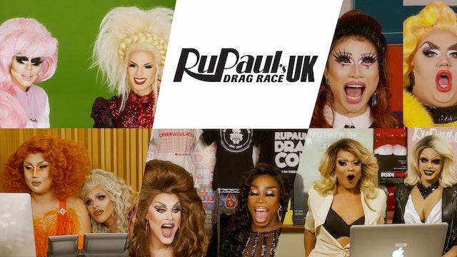 Drag Queens React to RuPaul's Drag Race UK