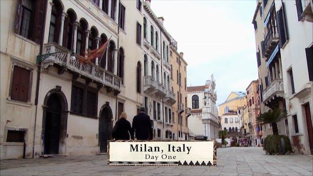 Italy: Man Shops Globe 206
