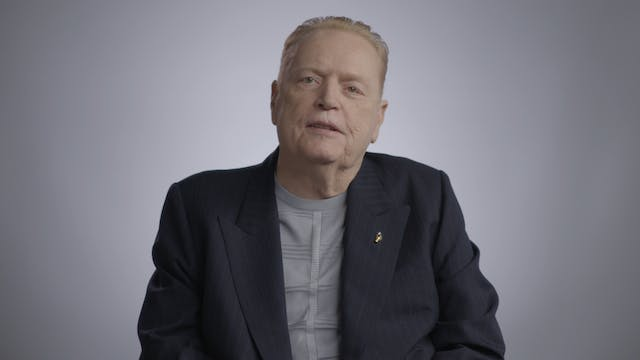Larry Flynt on Surviving Gunshot: WOW...