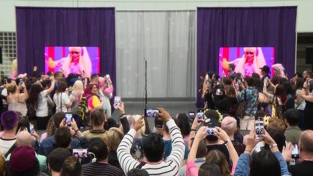 Trixie Mattel Performs Live: RuPaul's DragCon LA 2018