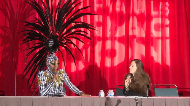 Asia O'Hara Face Panel: RuPaul's Drag...