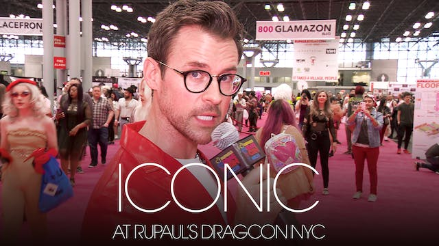 Iconic at DragCon NYC 2018