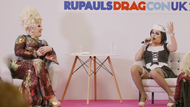Morning T&T at RuPaul's DragCon UK 2020!