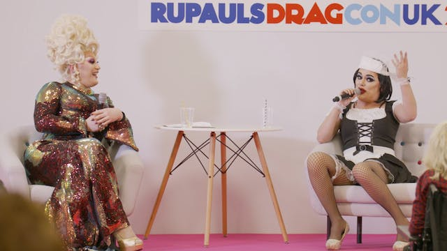 Morning T&T at RuPaul's DragCon UK 20...
