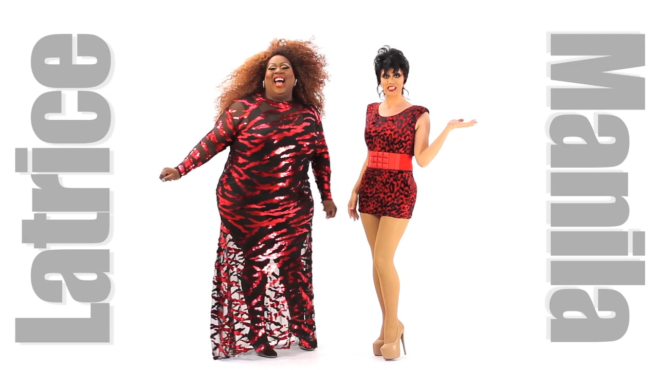 Manila Luzon and Latrice Royale: The Chop