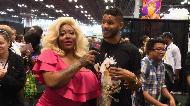TS Madison and Stacy Layne Matthews: RuPaul's DragCon NYC 2017