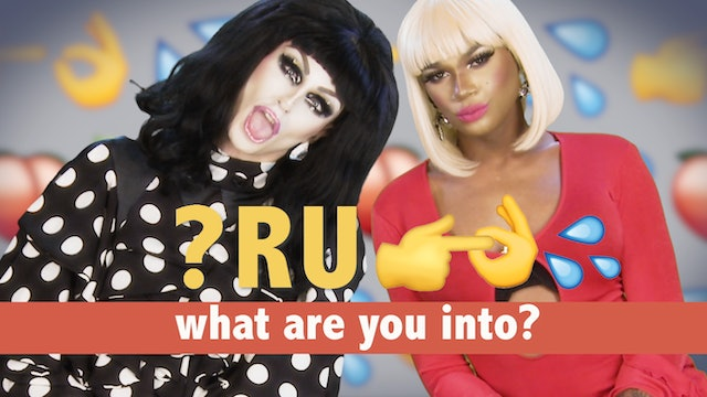 What R U Into? with Milk and Chi Chi DeVayne: Drag Queens React 101