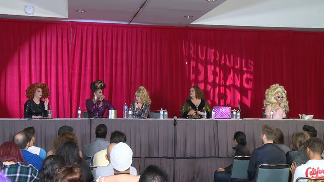 Library is Open: RuPaul's DragCon 2016