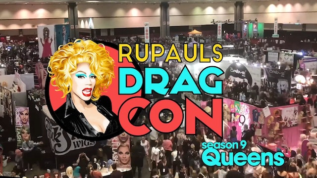 Season 9 on Lady Gaga: RuPaul's DragCon LA 2017