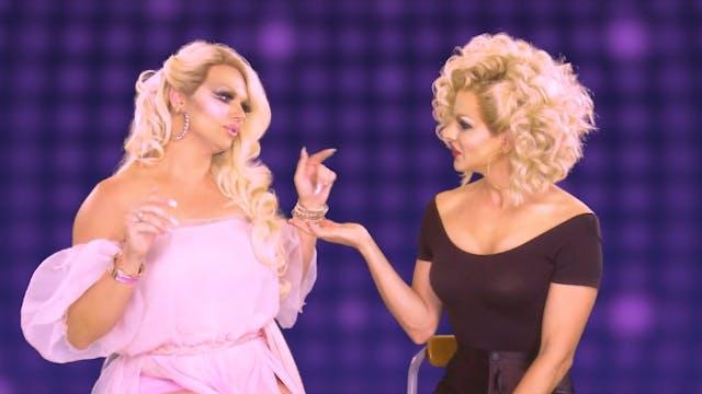 Courtney Act & Vanity Faire