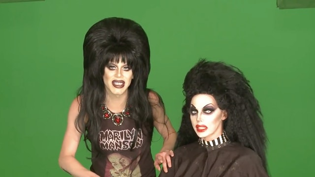 Bloopers with Sharon Needles