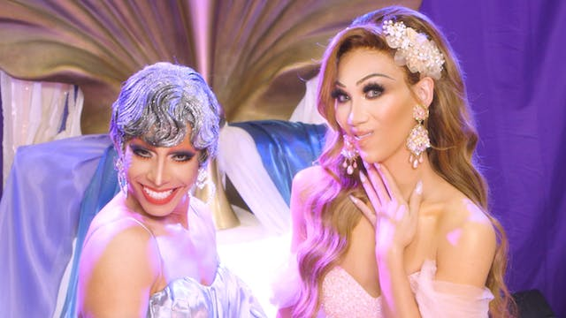 Pangina and Plastique Face-Off at Dra...