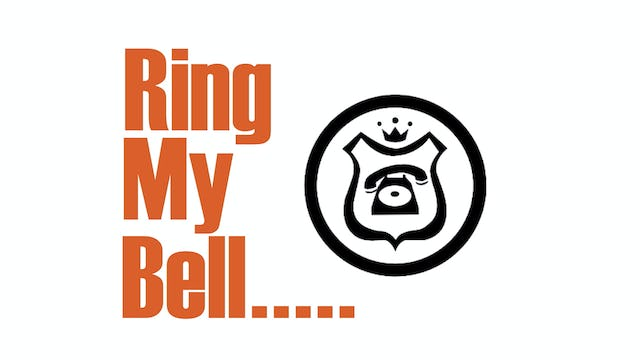 B Q Ring The Bell Sign
