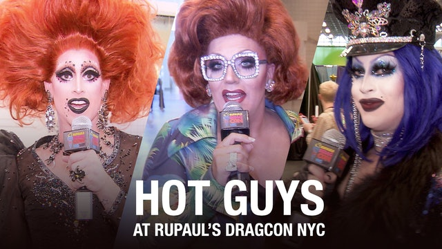 Hot Boys of DragCon NYC 2018