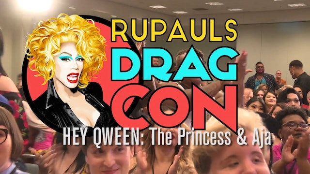 Aja and The Princess LIVE At DRAGCON 2017 on Hey Qween!