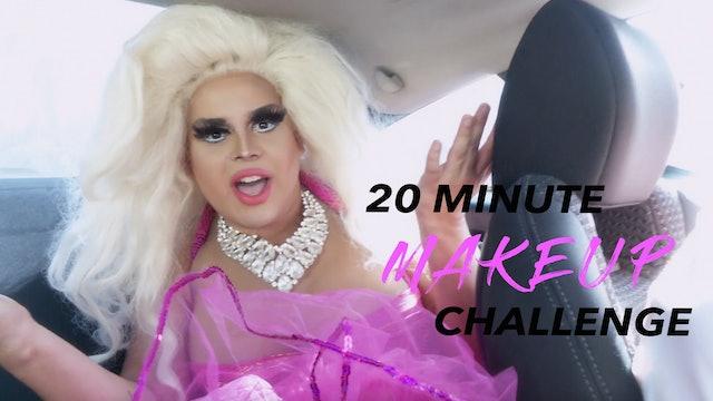 20-Minute Makeup Challenge: Jaymes Mansfield