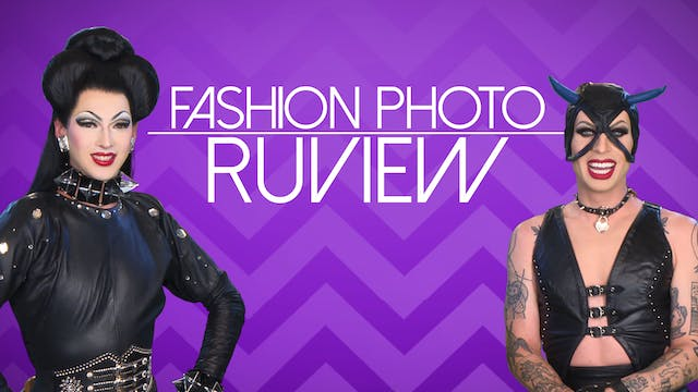 Violet and Katya: Fashion Photo RuVie...