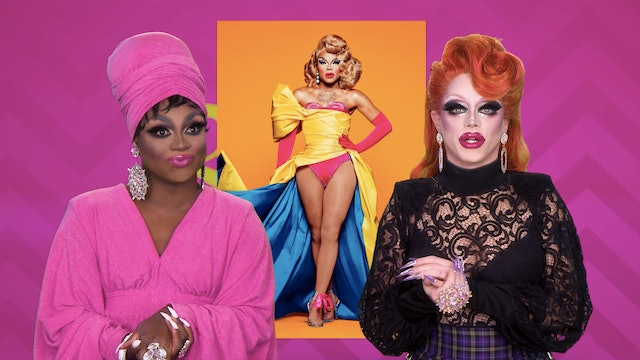 Season 11 Queen RuVeal: Fashion Photo RuView with Mayhem and Morgan 606
